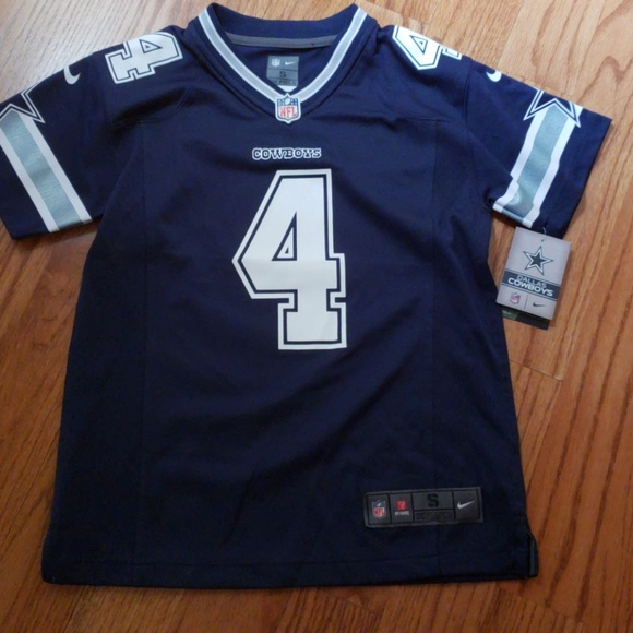 9cdbd08091a3b Nike Shirts & Tops | Dallas Cowboys Kids Prescott Jersey | Poshmark